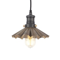Závěsné svítidlo mosazno-cínové Deštník 003