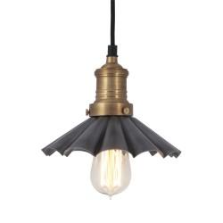 Závěsné svítidlo cínovo-mosazné Deštník 004