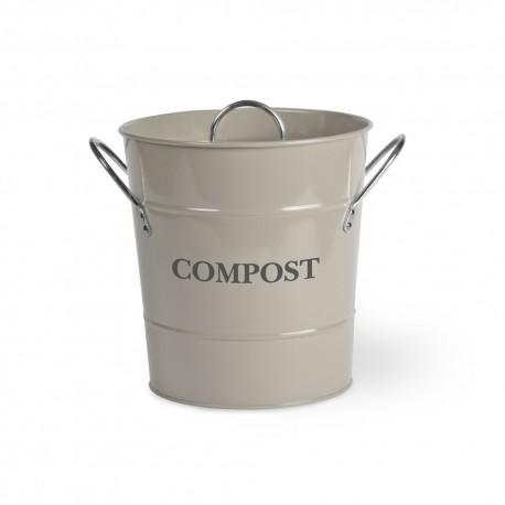 Kuchyňská nádoba na bioodpad - jílová