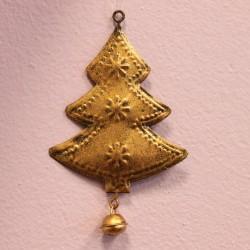 Vánoční ozdoba kovová- stromeček