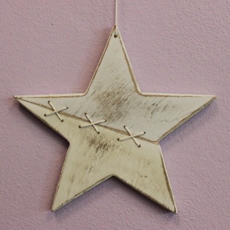 Hvězda dřevěná