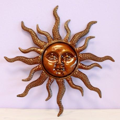 Slunce kovové