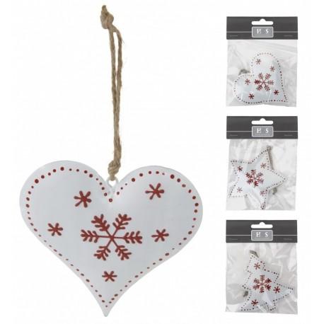 Vánoční dekorace kovová