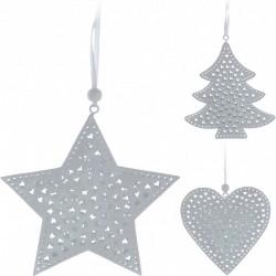 Vánoční ozdoby kovové