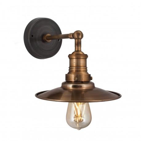 Nástěnná lampa mosazná Manhattan 001
