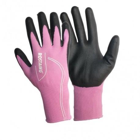 Pracovní rukavice Maxfeel růžové