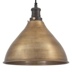 Závěsné svítidlo mosazno-cínové Brooklyn 003