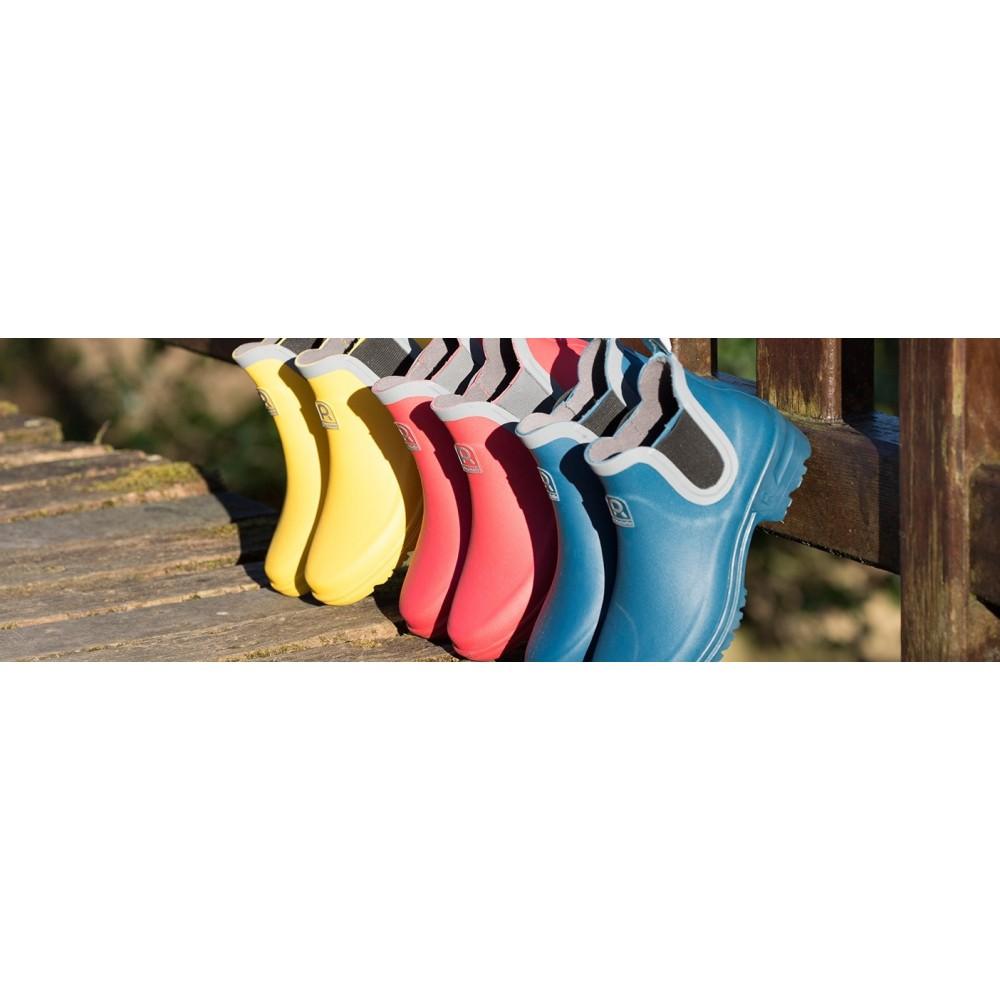 Dámské nízké gumáky - modré 6a1673df271