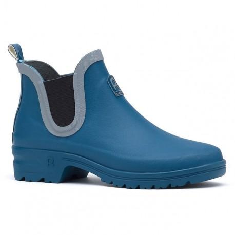 Dámské nízké gumáky - modré