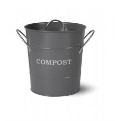 Kuchyňská nádoba na bioodpad - tmavá šedá