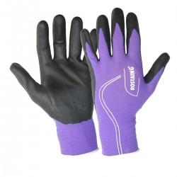 Pracovní rukavice Maxfeel fialové