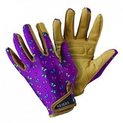 Dámské zahradní rukavice - motýlek