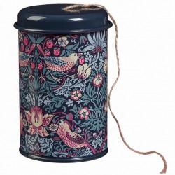 Provázek v plechovce William Morris