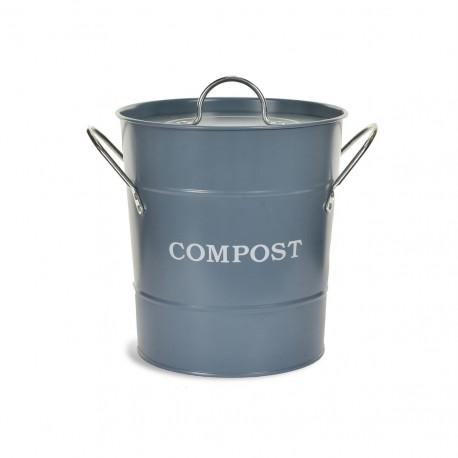 Kuchyňská nádoba na bioodpad - modrozelená