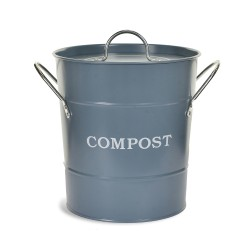 "Koš ""Compost"" na bioodpad modrošedý"