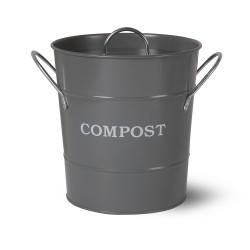 Koš Compost na bioodpad šedý