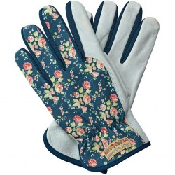 Dámské rukavice kožené Julie D - modré