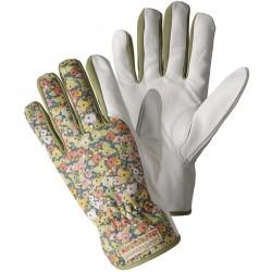Dámské rukavice kožené zelené Julie D - zelené