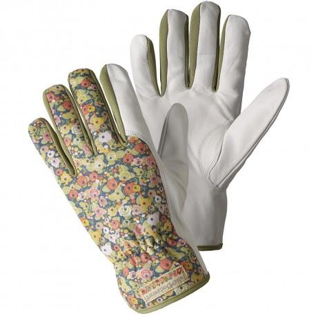 Dámské rukavice kožené zelené (Julie D)