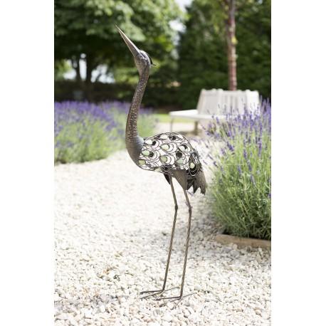 Dekorace do zahrady - volavka