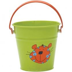 Dětský kyblíček zelený - džungle