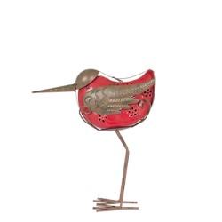 Dekorace do zahrady - ptáček Hanna