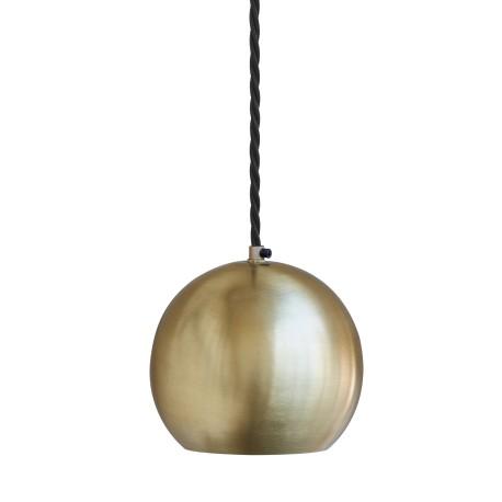 Závěstné svítidlo mosazné Globe