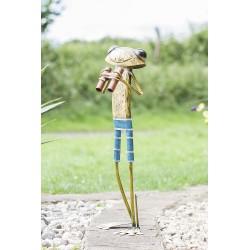 Dekorace do zahrady/ k jezírku - žába