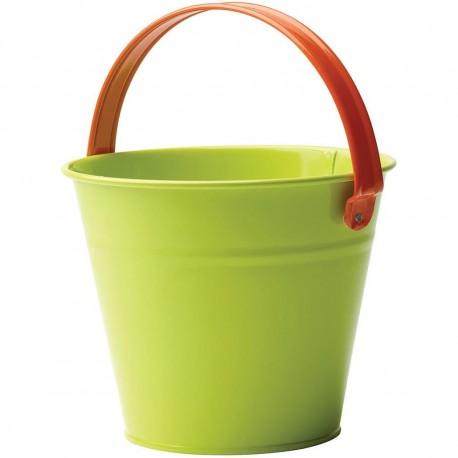 Dětský kovový kyblík - zelený