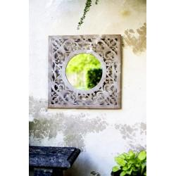 Čtvercové zrcadlo na zahradu