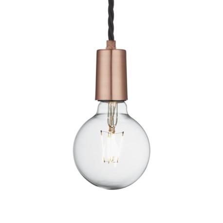 Závěsné svítidlo měděné Edison