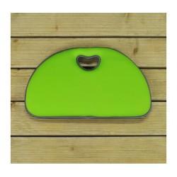 Klekací podložka - světle zelená