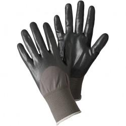Pánské rukavice nitrilové - šedé