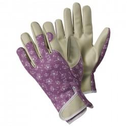 Dámské pracovní rukavice s česnekovými květy