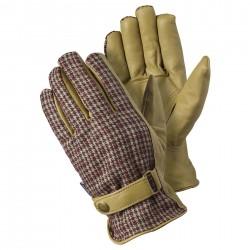 Stylové pánské pracovní rukavice - kostka