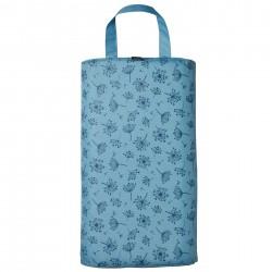 Klekací podložka modrá (květy česneku)