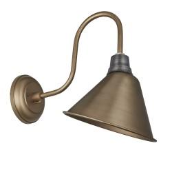 Nástěnná lampa Montgomery mosaz