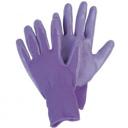 Dámské rukavice nitrilové - fialkové