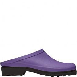 Dámské nazouváky fialové