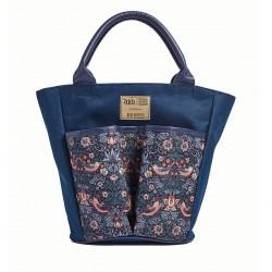 Taška na zahradní nářadí  William Morris - modrá