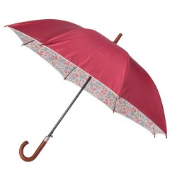 Velký deštník Laura Ashley červený