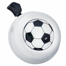 Kovový zvonek na kolo - fotbalový míč