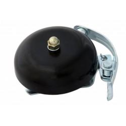 Retro zvonek na kolo - černý