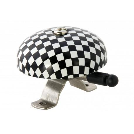 Retro zvonek na kolo - šachovnice