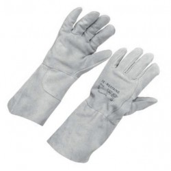 Protiřezné kožené rukavice Tolerie