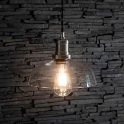 Závěsné svítidlo skleněné Praha