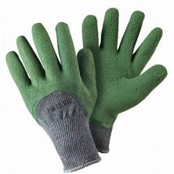 Zateplené rukavice zelené