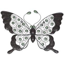 Dekorace na zahradní zeď/plot - motýl