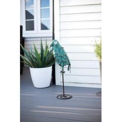 Dekorace do zahrady - papoušek