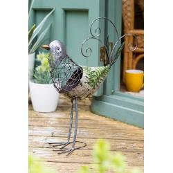 Dekorace do zahrady - pták Fleur